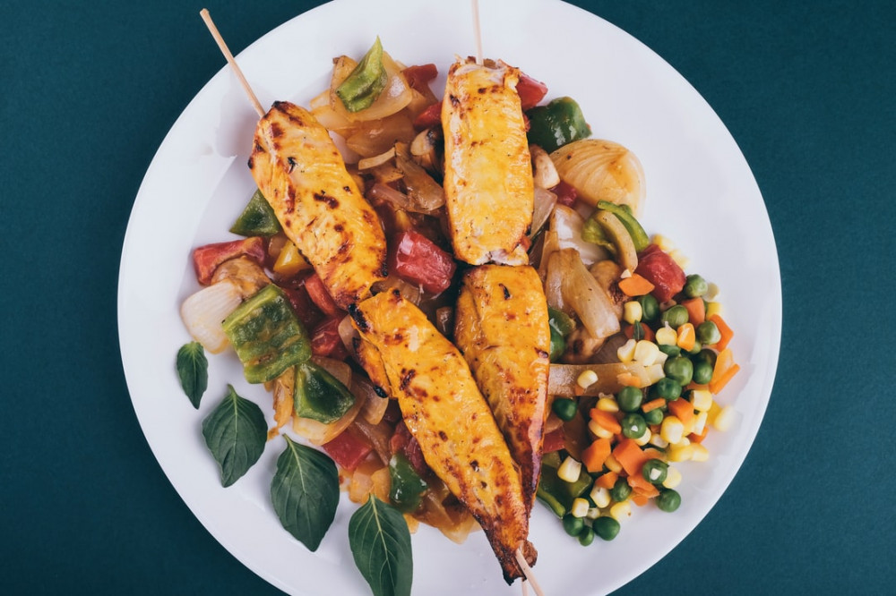 Lean protein and veggies